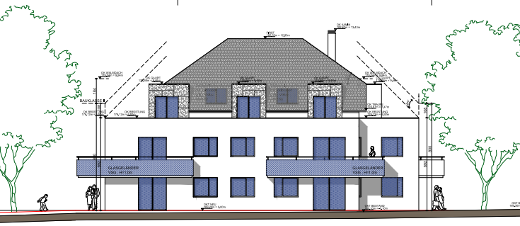Mehrfamilienhaus Bauphysik Gutachten
